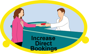 Increase direct hotel bookings for tourism