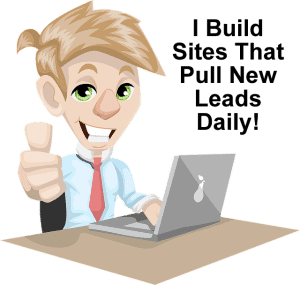 Lead generating websites for YouTubers